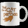 Cat Person – White 11oz Mug