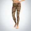 Brown Damaskish – Leggings