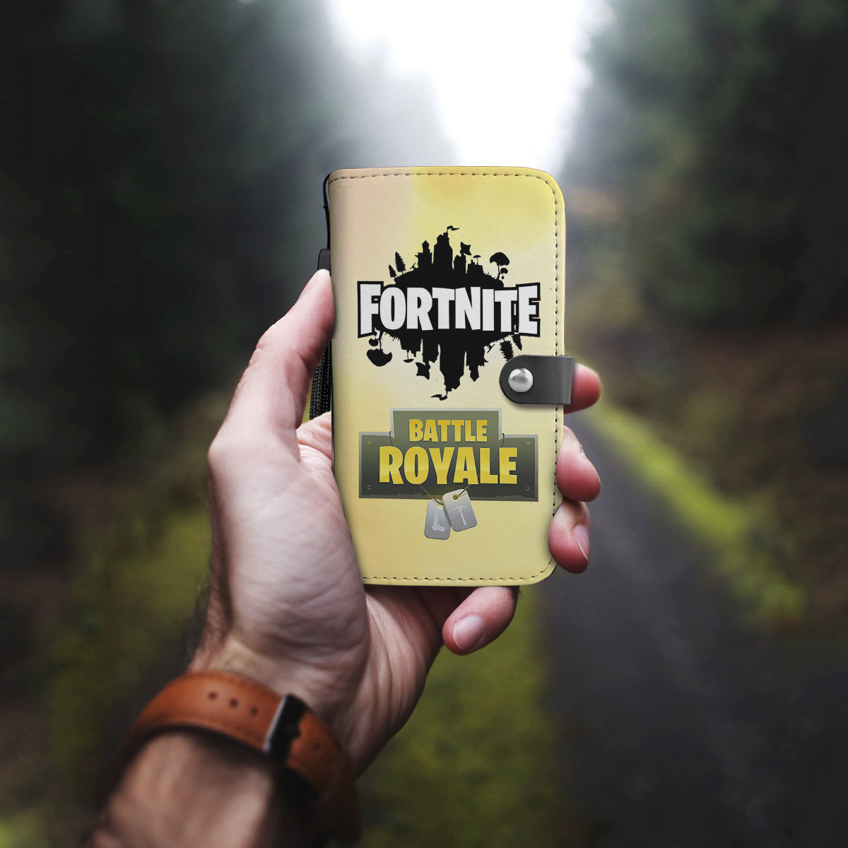 Awesome Fortnite Where We Dropping Boys Phone Wallet Case