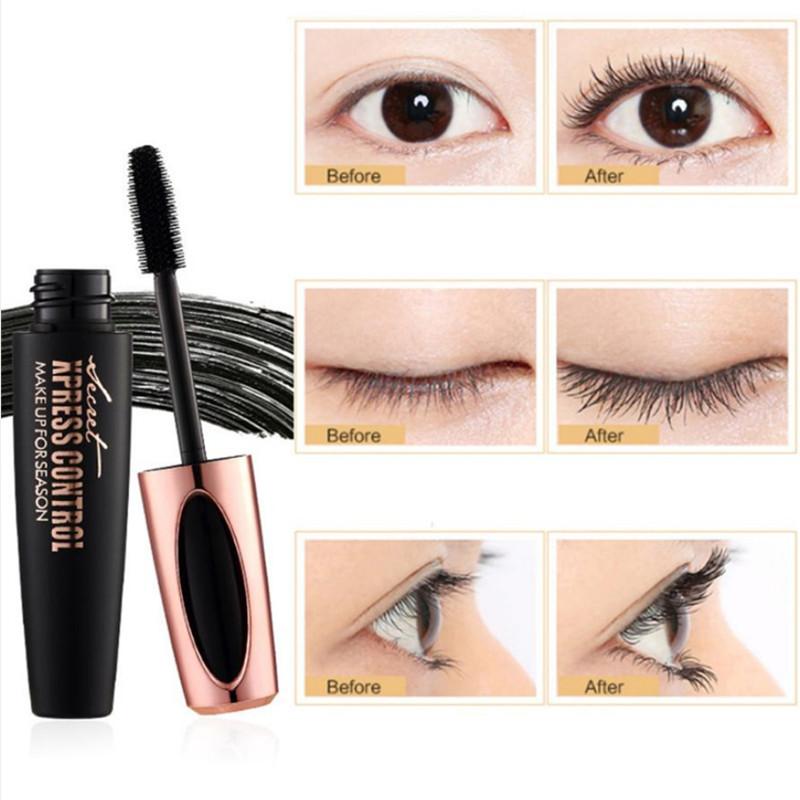 f23b4f0513a 4D Silk Fiber Lash Mascara Waterproof Rimel 3d Mascara For Eyelash Extension  Black Thick Lengthening Eye