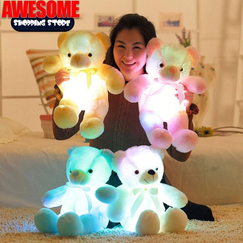 LED Teddy Bear - Colorful Glowing Teddy Bear