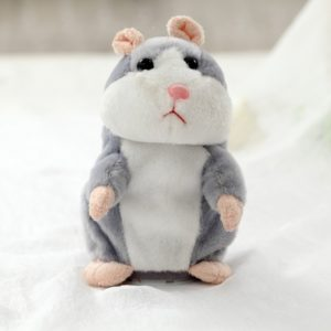 Dropshipping Promotion 15cm Lovely Talking Hamster Speak Talk Sound Record Repeat Stuffed Plush Animal Kawaii Hamster Toys 1