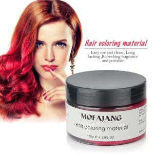 Hair Wax Color Styling Pomade Dropshipping Discounted Price Temporary Hair Dye Disposable Fashion Molding Coloring Mud Cream