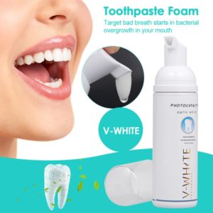 60ml Toothpaste Whitening Foam Natural Mouth Wash Water Teeth Whitening Toothpaste Liquid Oral Hygiene Toothpaste