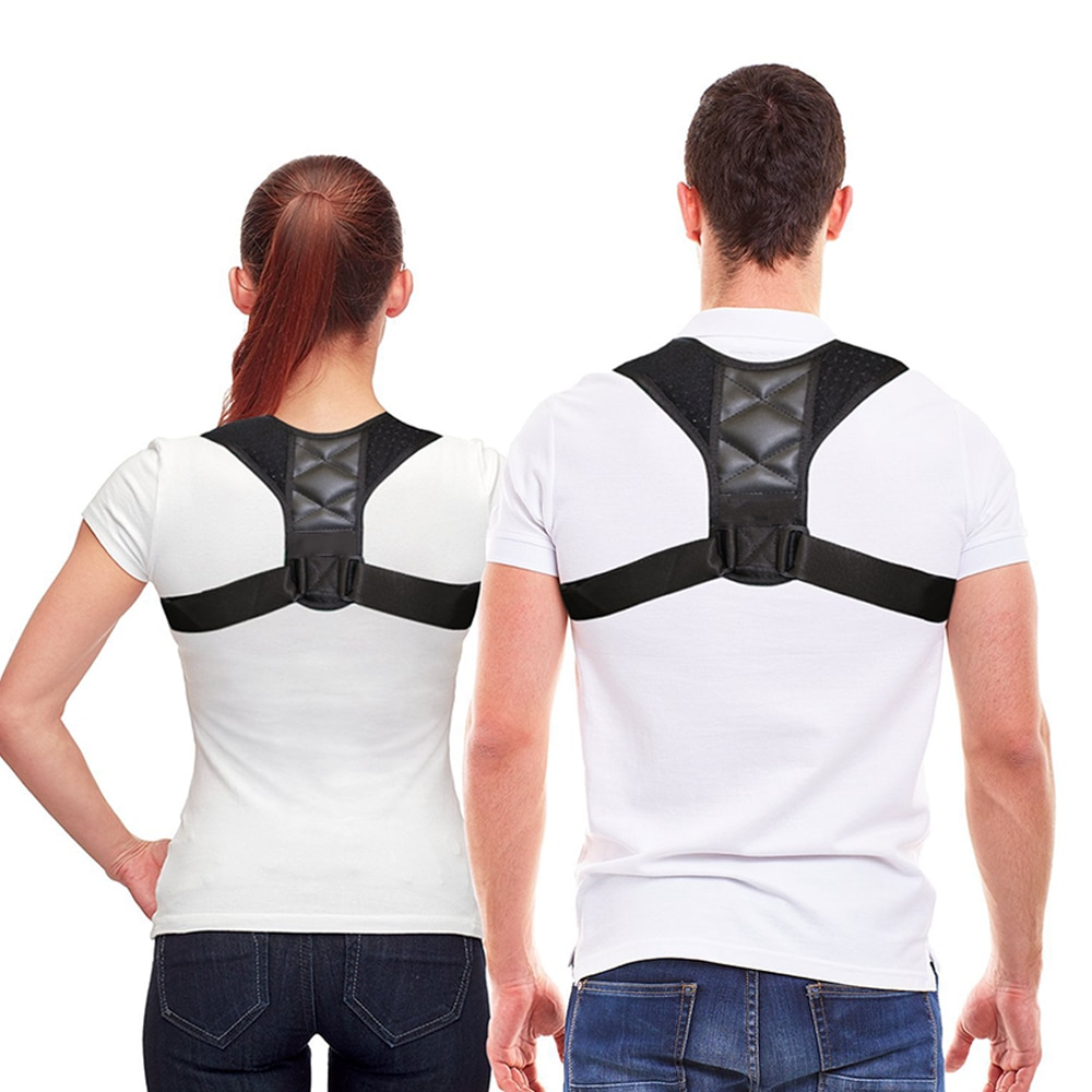 BodyWellness Posture Corrector (Adjustable to Multiple Body Sizes)