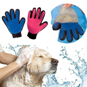 Pet Grooming Glove for Cats Brush Comb Cat Hackle Pet Deshedding Brush Glove for Animal Dog Pet Hair GloveS for Cat Dog Grooming 1