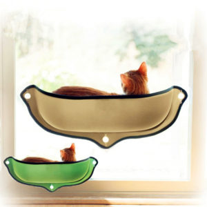 Cat Hammock Bed Window Pod Lounger Suction Cups Warm Bed For Pet Cat Rest House Soft And Comfortable Ferret Cage 1