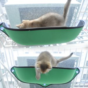 Cat Hammock Bed Window Pod Lounger Suction Cups Warm Bed For Pet Cat Rest House Soft And Comfortable Ferret Cage 2