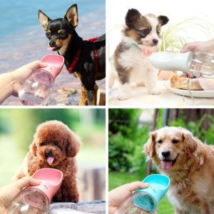 Portable Pet Dog Water Bottle For Small Large Dogs Travel Puppy Cat Drinking Bowl Outdoor Pet Water Dispenser Feeder Pet Product 4