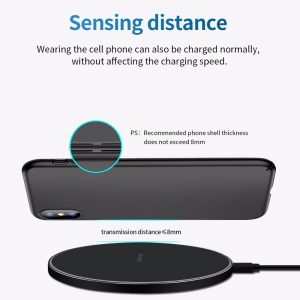 FDGAO 10W Fast Wireless Charger For Samsung Galaxy S10 S20 S9 Note 10 9 USB Qi Charging Pad for iPhone 11 Pro XS Max XR X 8 Plus 4